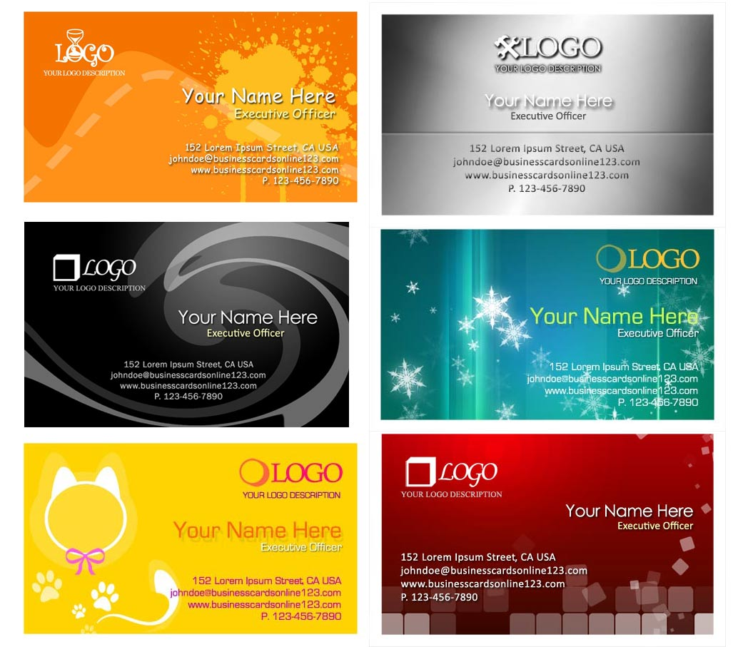 Business Namecard Templates : Free PSD for Your Company or Personal ...